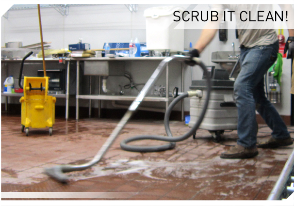Ceramic Tile Scrubbing