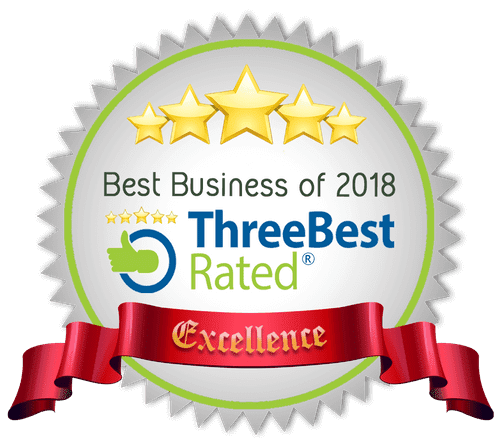 Awarded by ThreeBest in 2018.